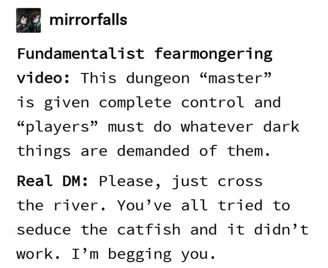 Putting a river was a mistake, please, just cross it, it's not even supposed to be a problem