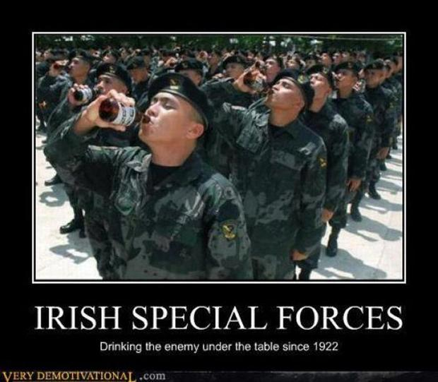 Because they are Irish