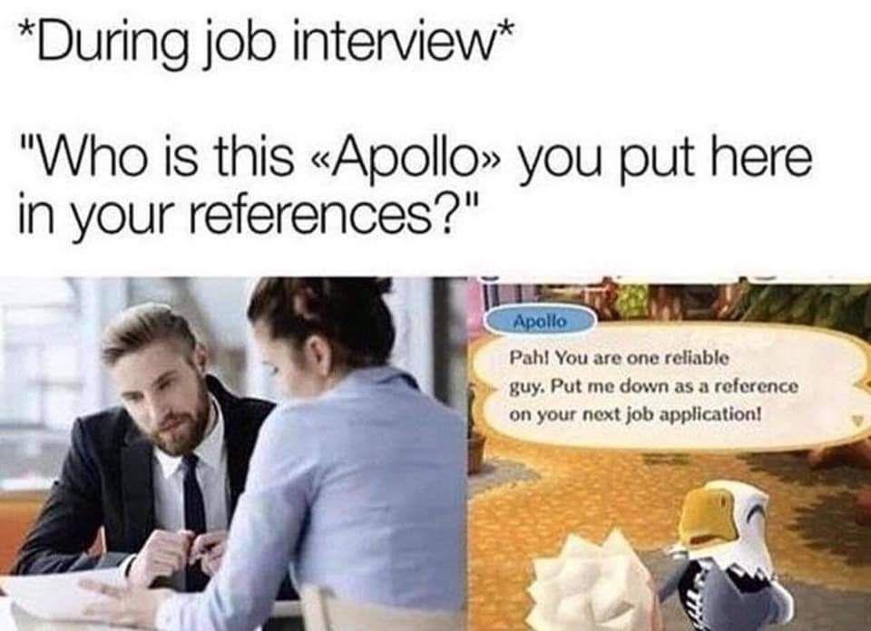Got the job tho