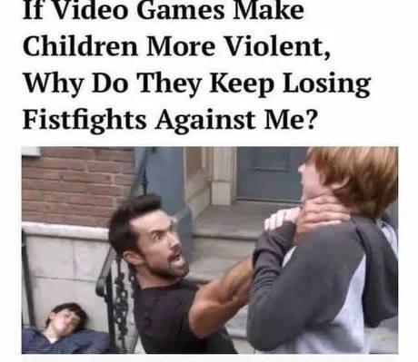 Video Game Violence & Kids