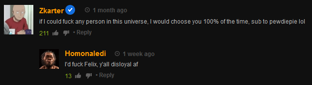 he said it