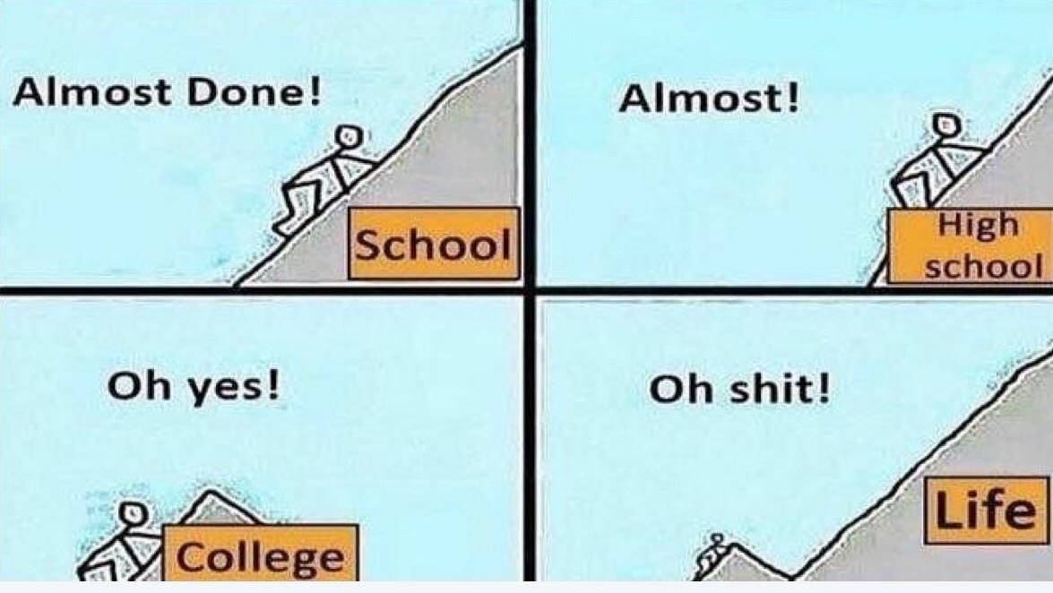 Life's stages