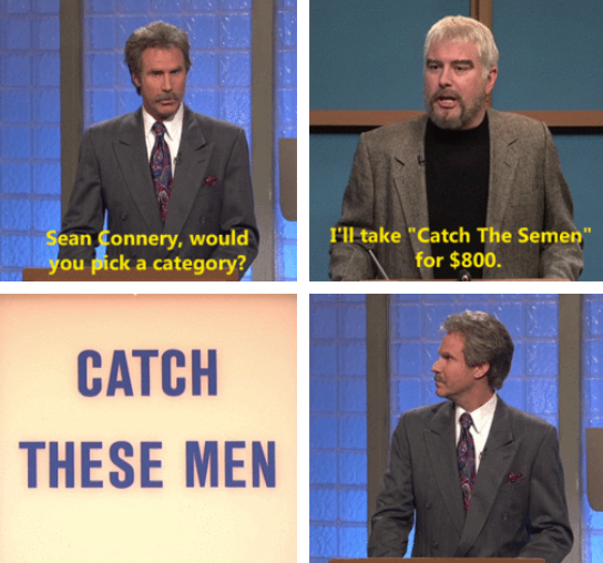 Alex Trebek, this post's for you ♥️