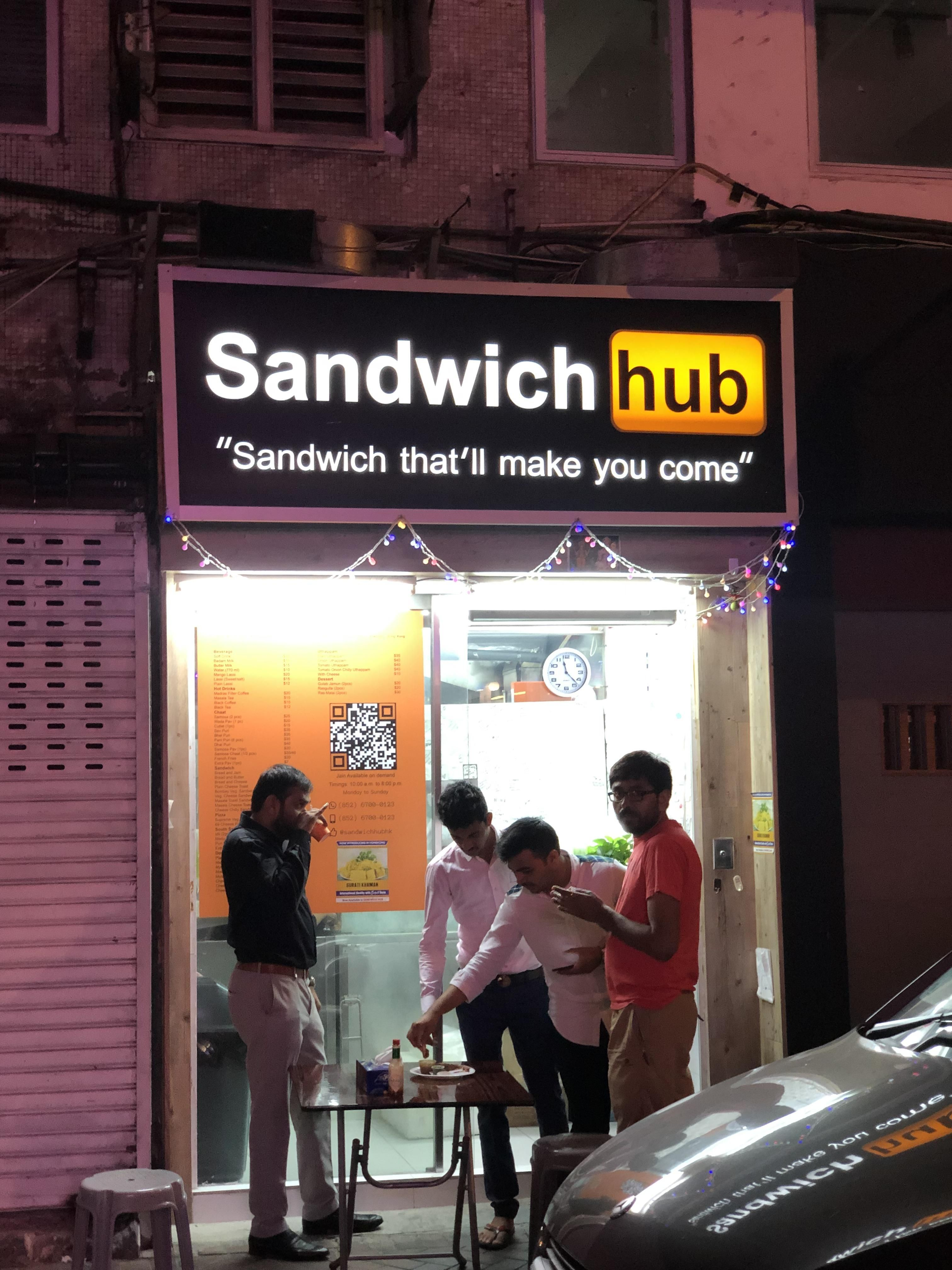 Sandwhich that'll make you come