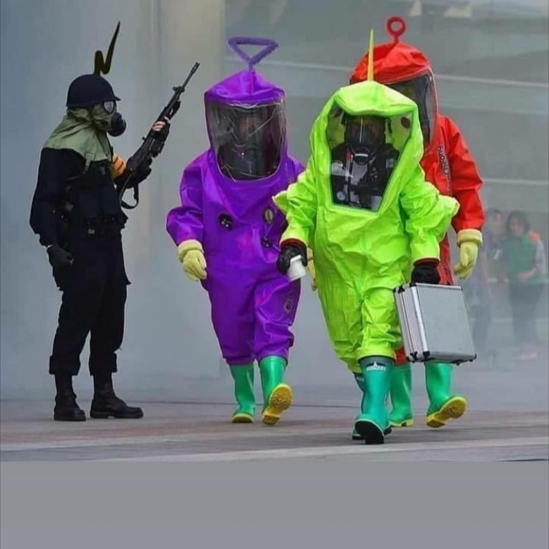 The Teletubby Biohazard Squad
