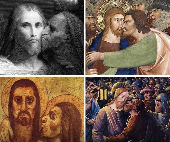Perhaps Judas's biggest crime was never understanding personal space