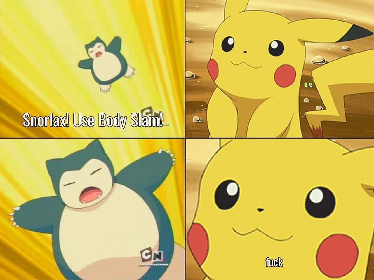 """Alright Pikachu, I choose you!"""