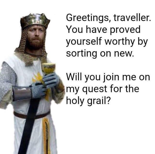 Will you join me on my quest?