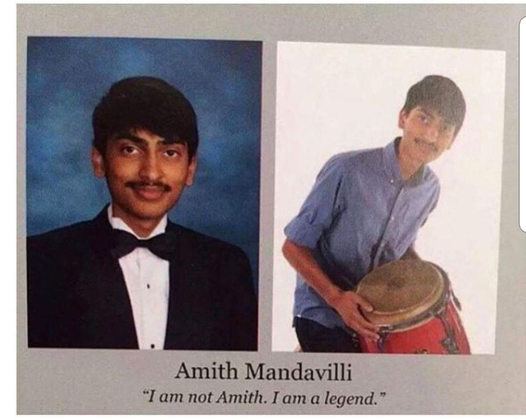 First I bang the drum, then I bang bang your mum