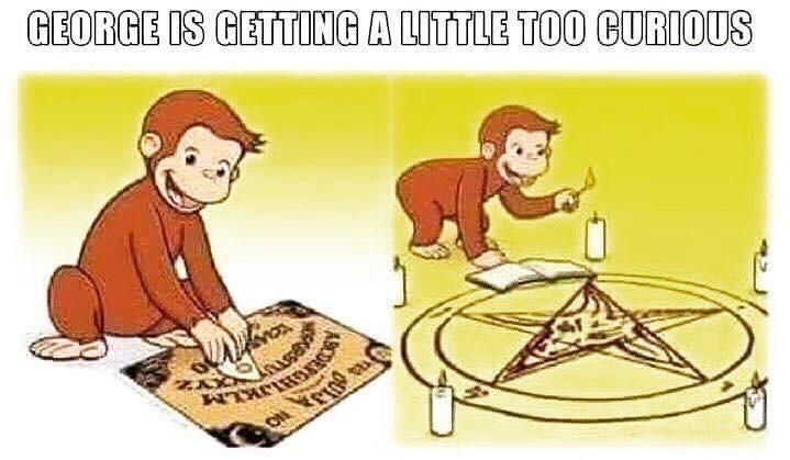 Curious George causes the apocalypse