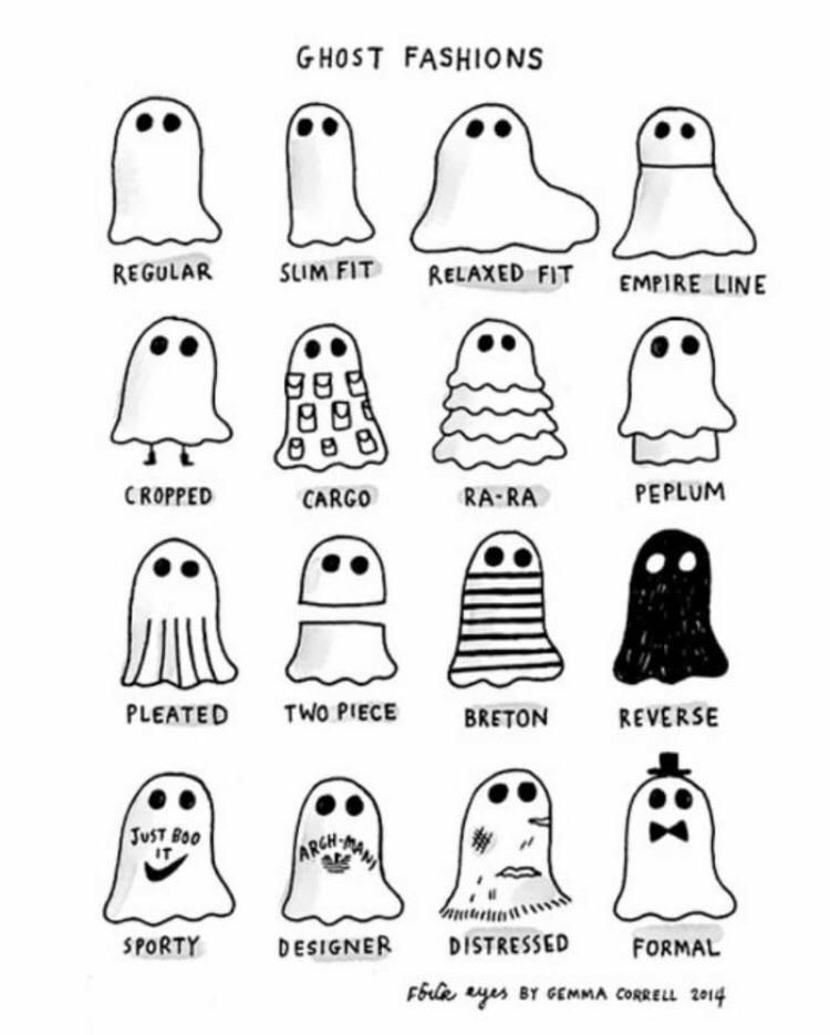Ghost Fashions