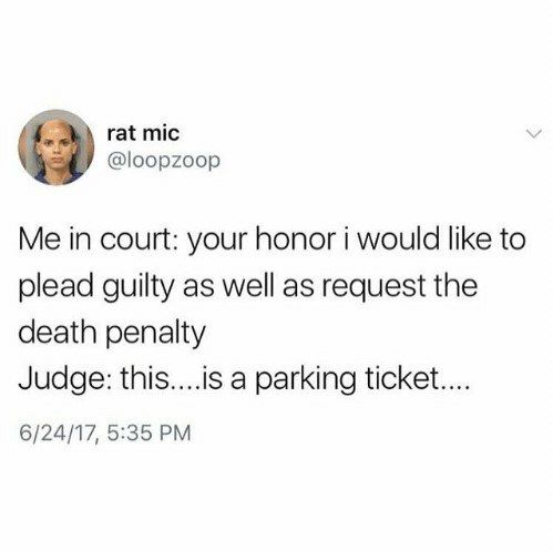 My Court Date Is Coming Up