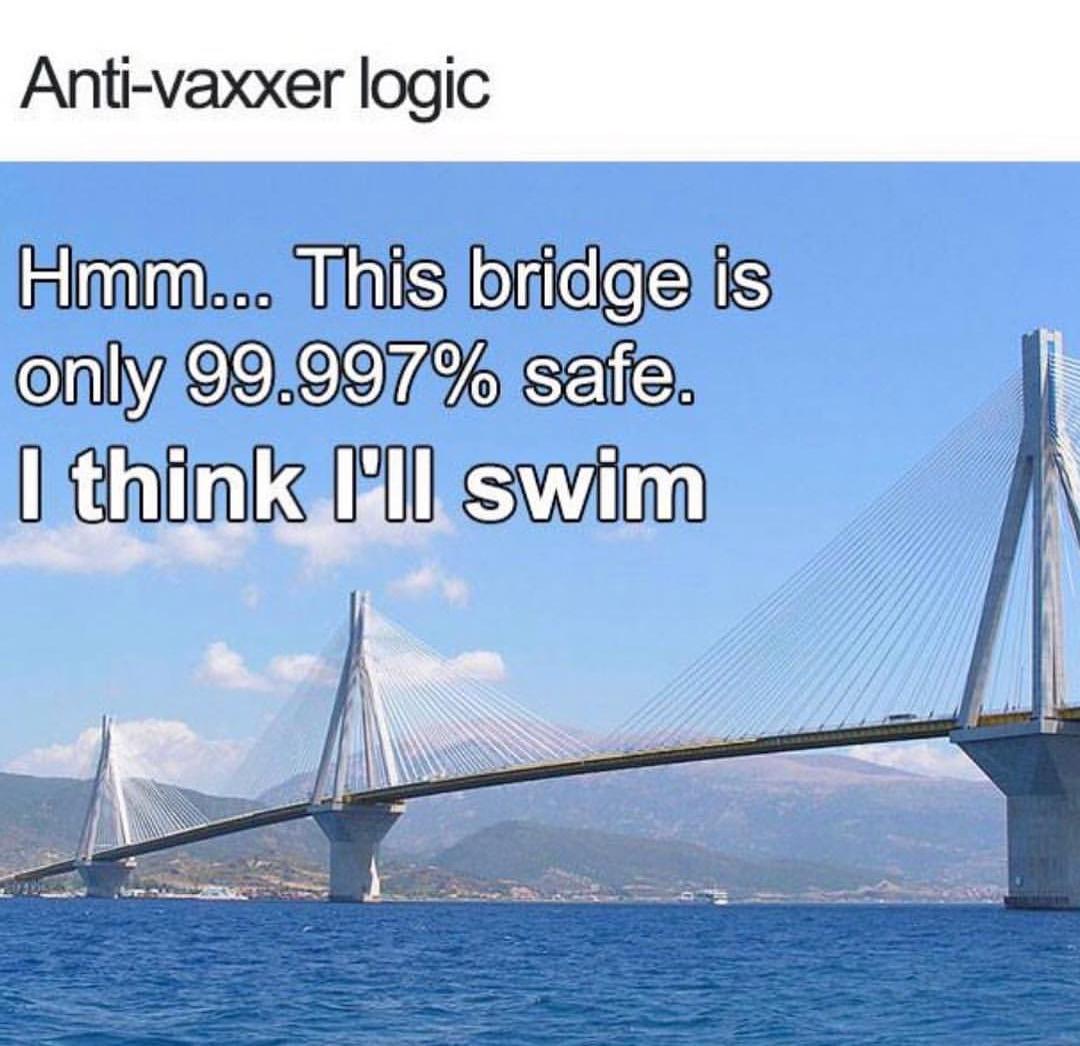 Anti - Vaxxer logic