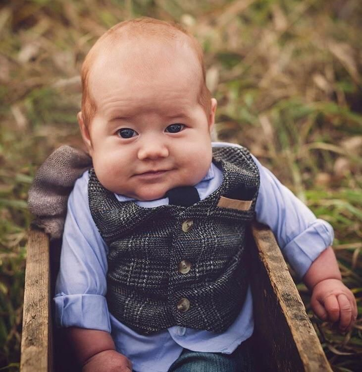 This baby looks like he needs a Pint