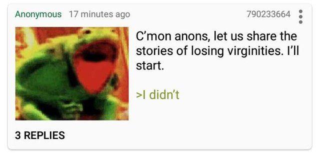 Anon is relatable