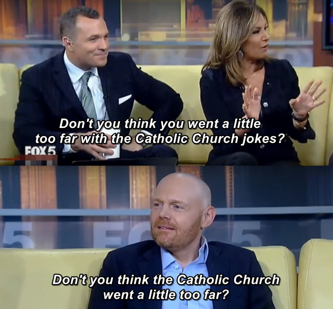 BILL BURR being a real G