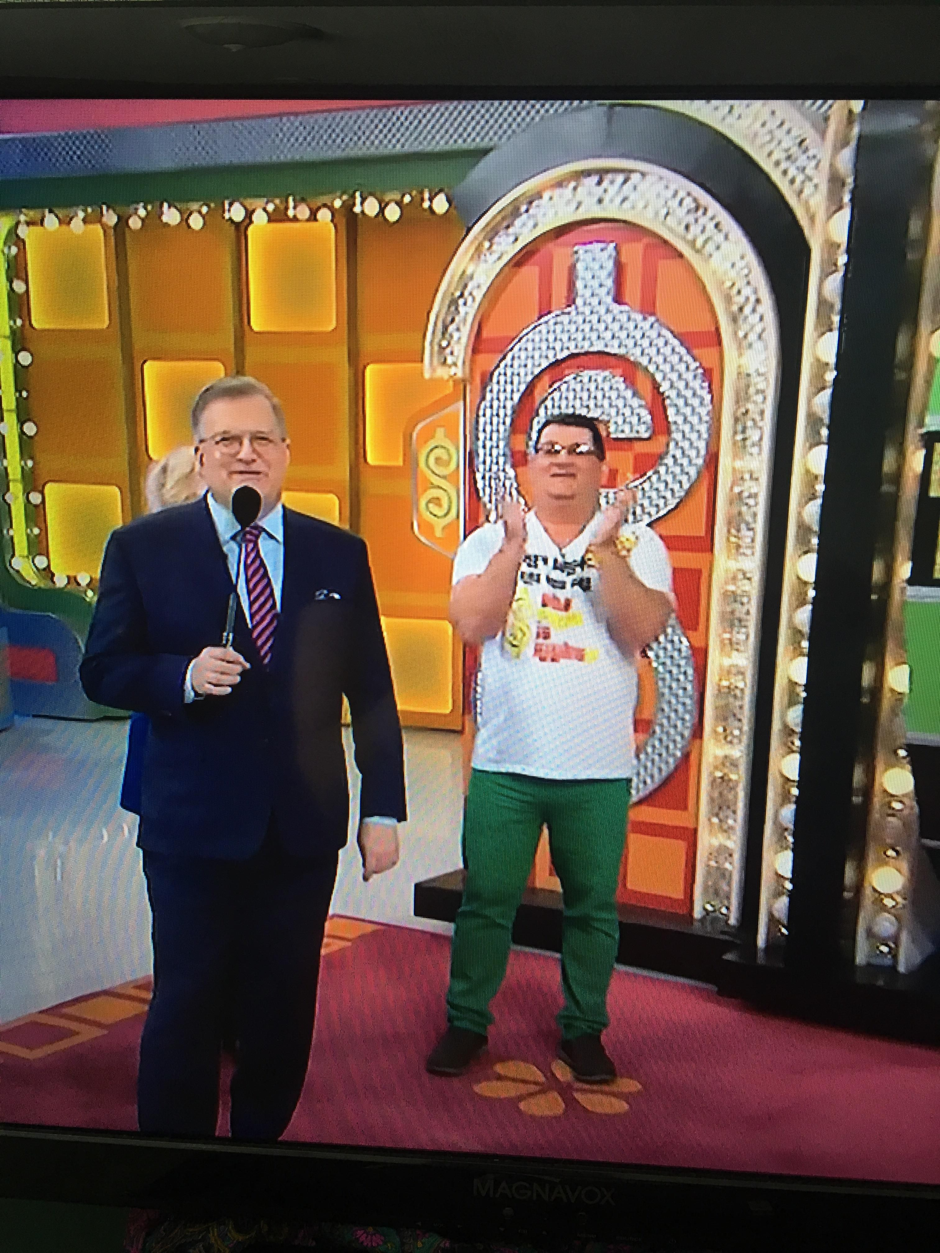 Saw Peter Griffin irl on The Price is Right