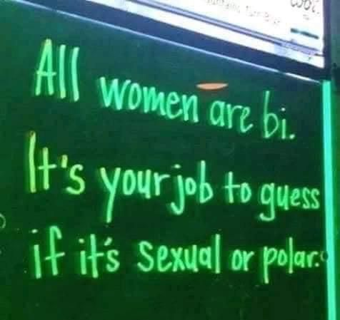 Women are bi...