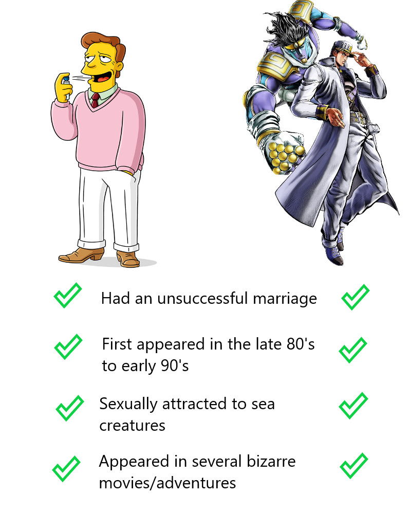 Jojo is the Simpsons of Japan, change my mind
