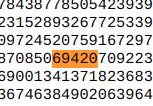 There is a 69420 in pi