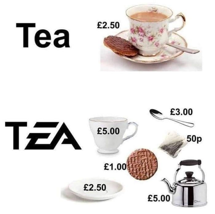 Don't mess with our tea!
