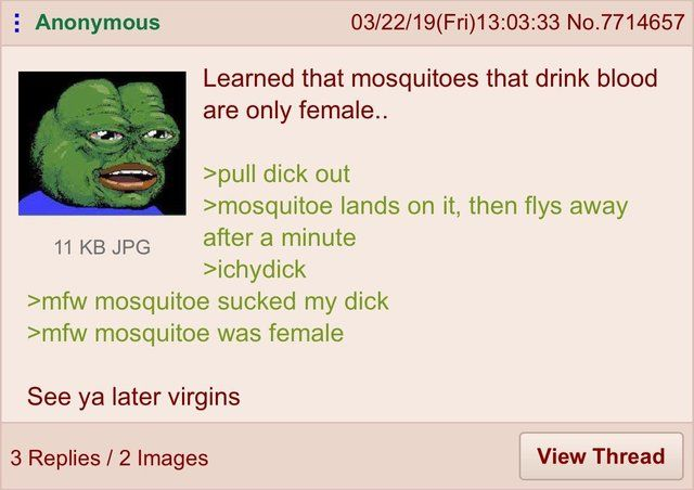 Anon sees you later