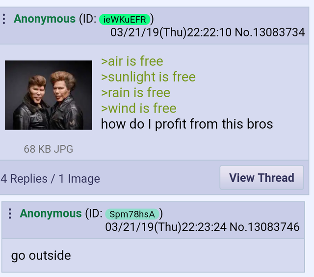 Anon with the big brain