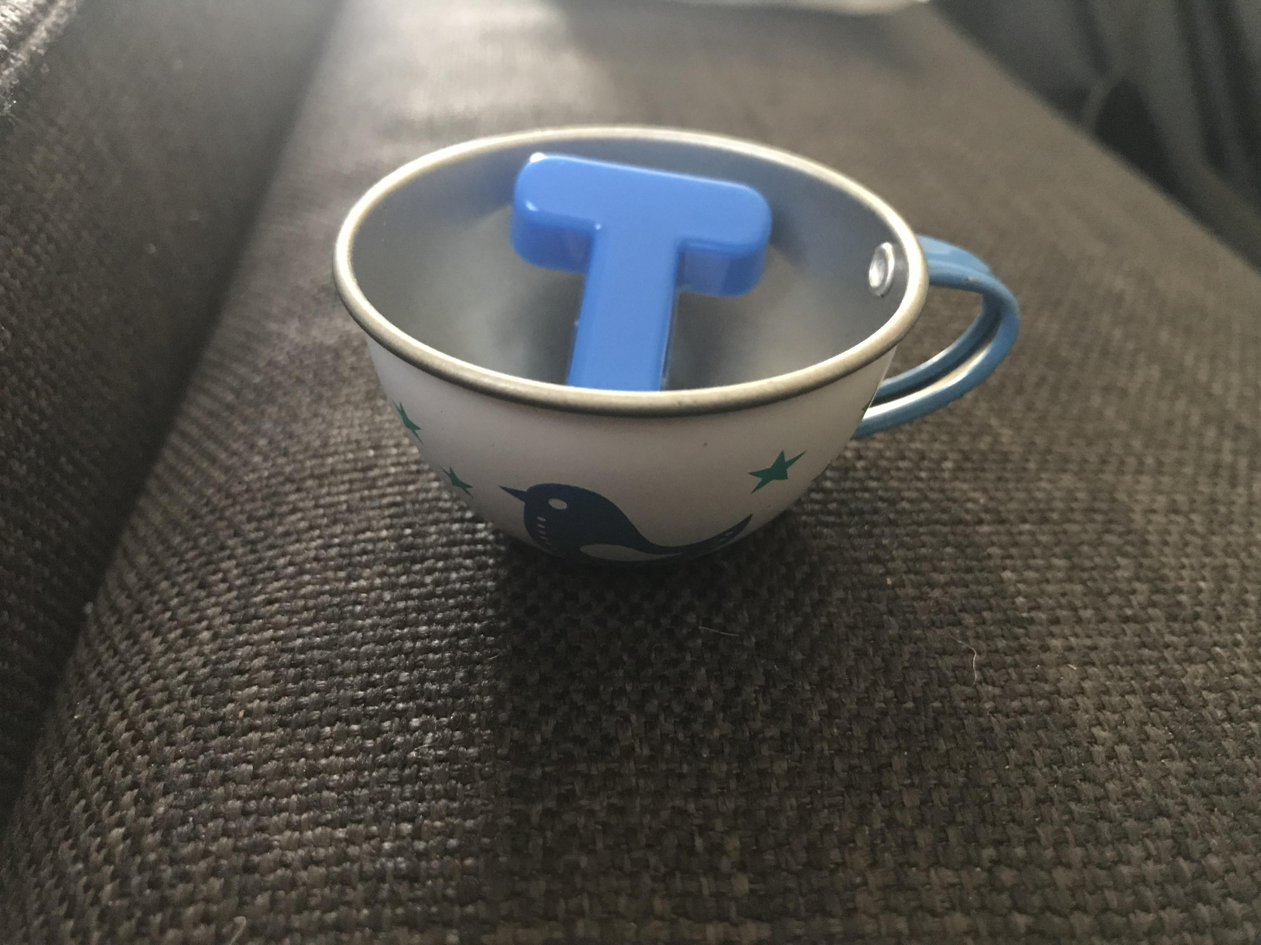 I asked my toddler for a cup of tea and she nailed it.