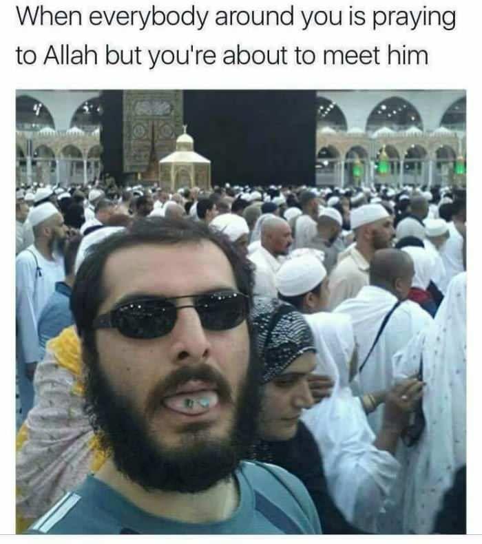 Going to meet Allah
