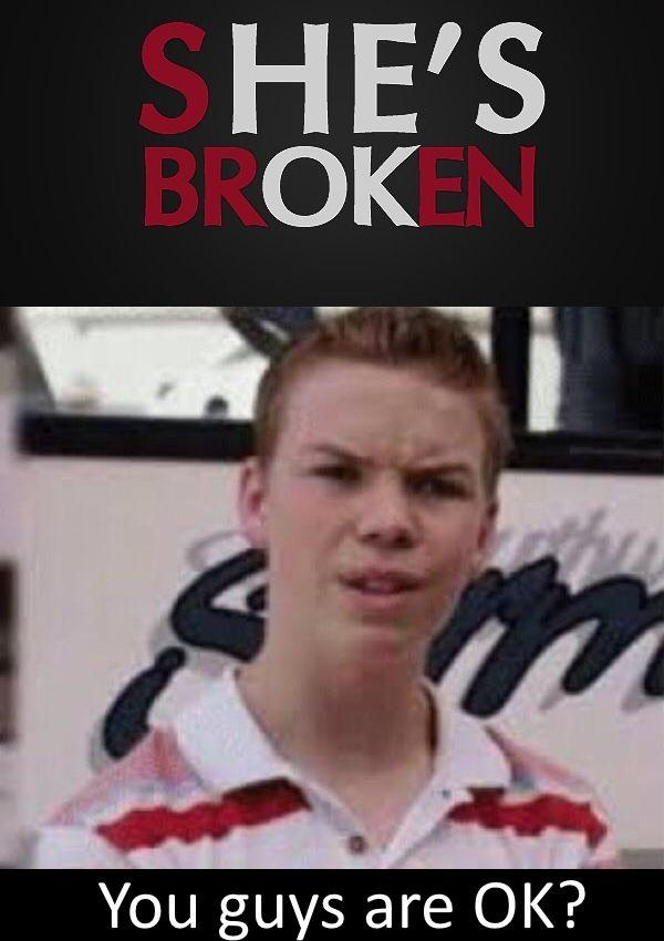 I'm also broken