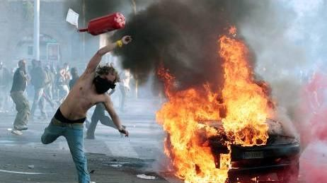 I realize the irony in rioting for someone named protester but still