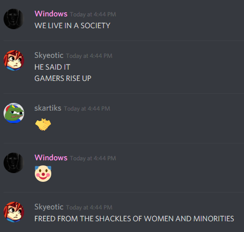 WINDOWS WILL END GAMER OPPRESSION!