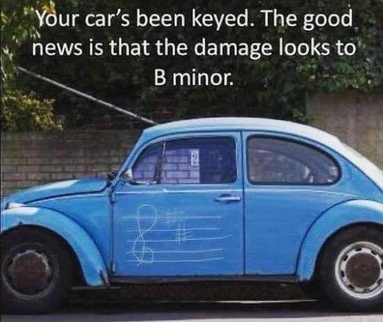 Minor damage
