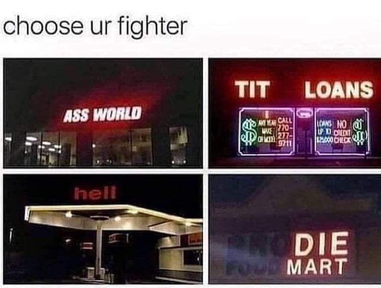 I choose hell