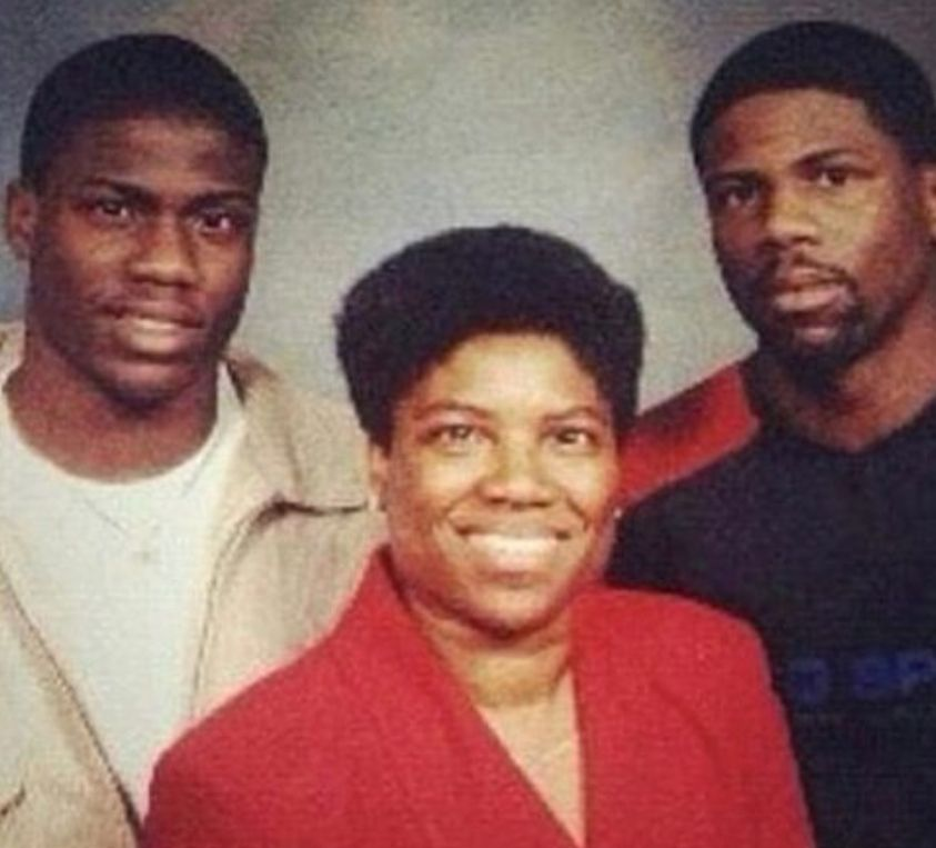 Kevin Hart's mom looks more like Kevin Hart than Kevin Hart looks like Kevin Hart