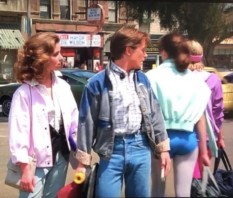 Marty Mcfly did this in 1985