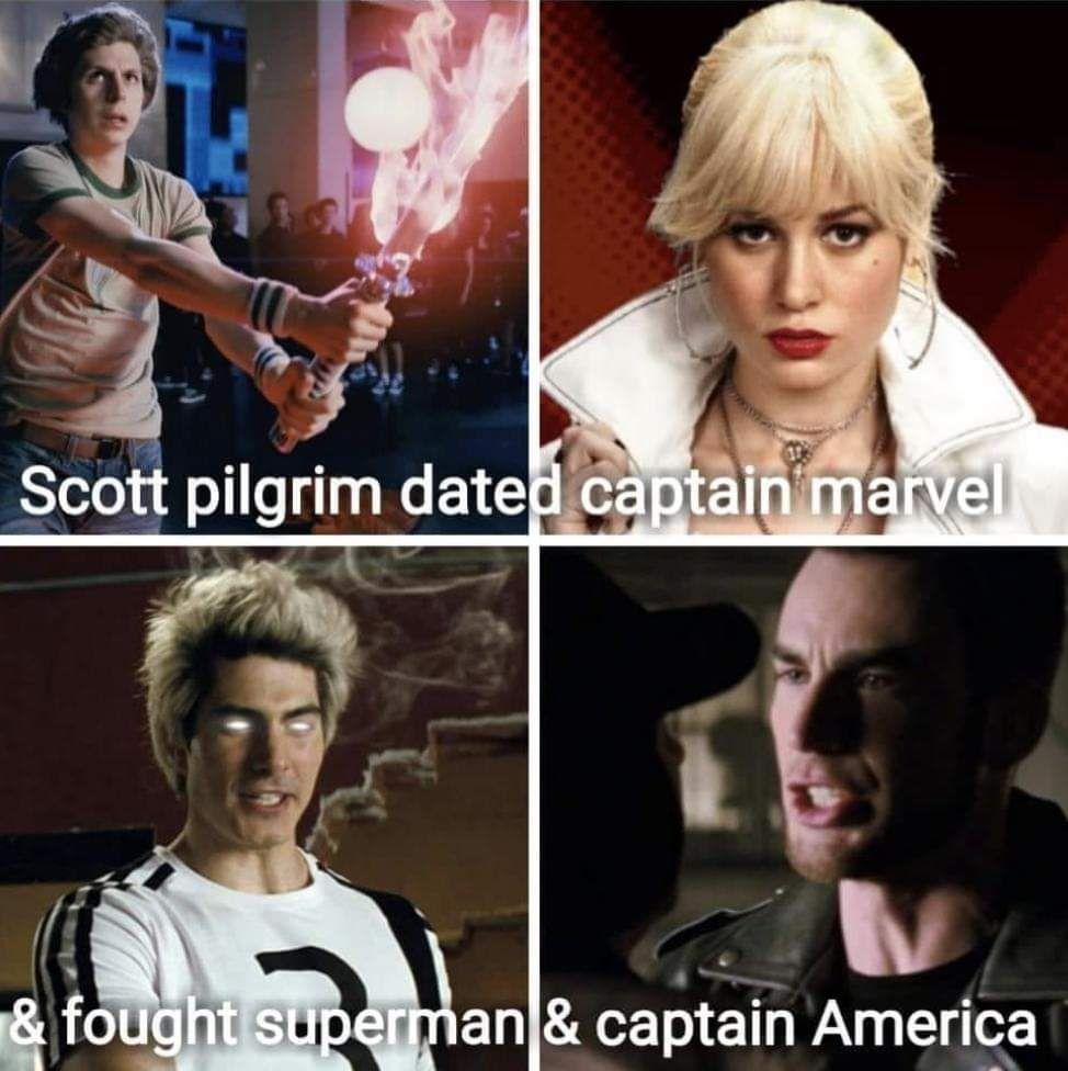 We need Scott Pilgrim to defeat Thanos.