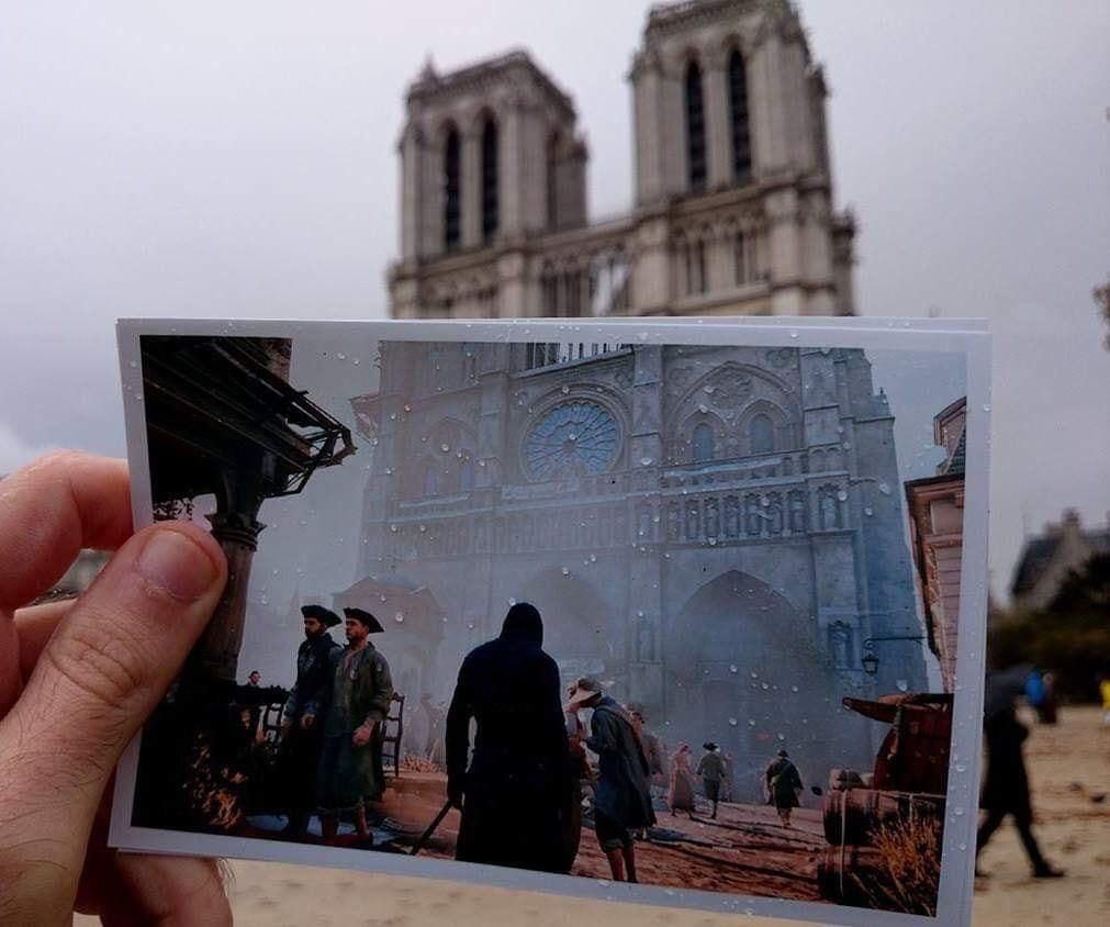 All these epic-grand pics of Notre Dame and I'm all...