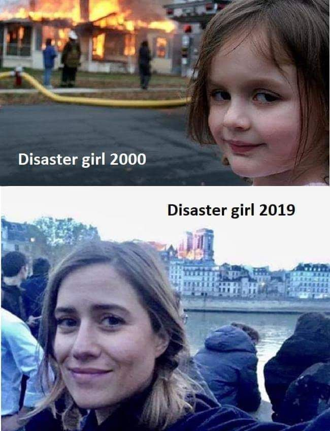 Give her another 20 years she will burn us all