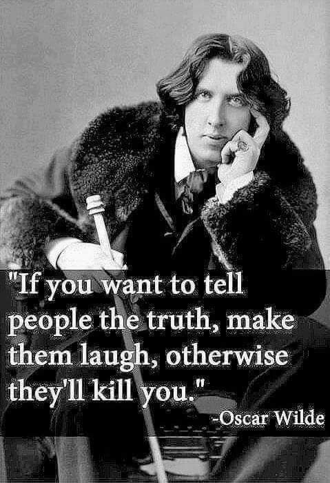 Wise words from a wilde man