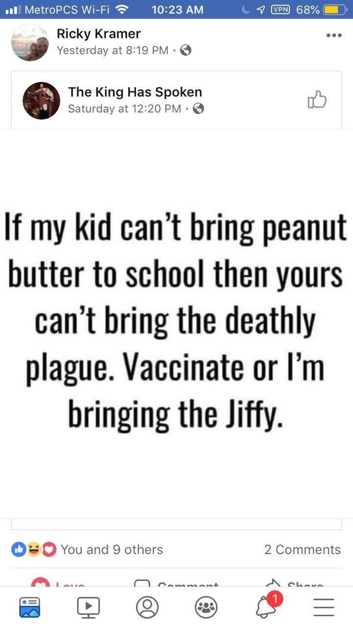 Anti vaxxers are NUTS!!!