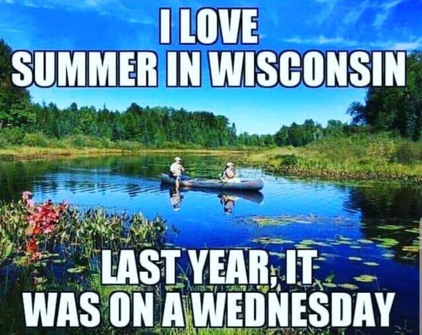 Summers in Wisconsin