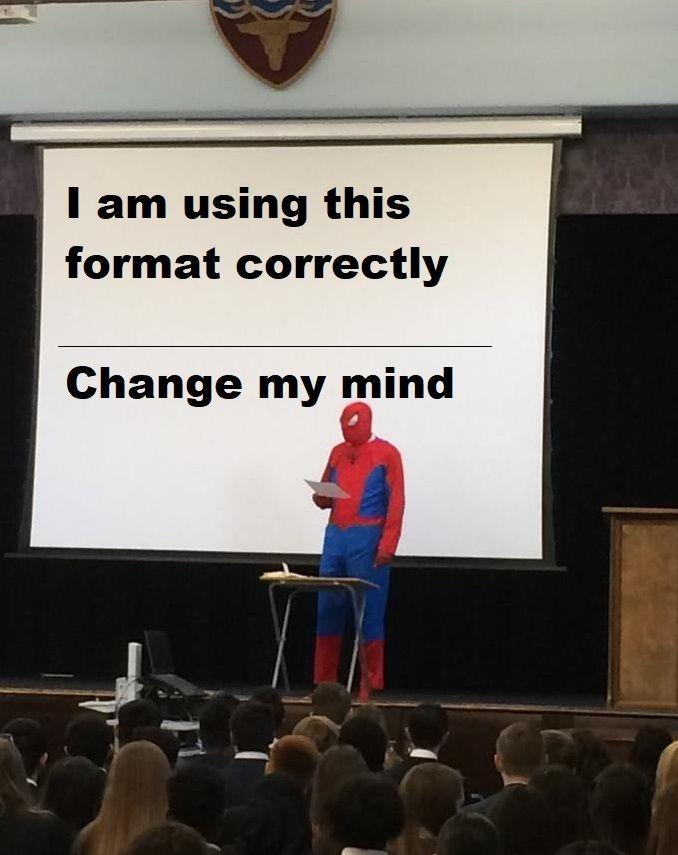 Plis don't, my mind is fragile