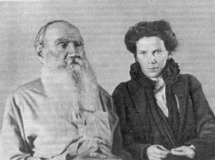 the daughter of Leo Tolstoy looks like Benedict Cumberbatch