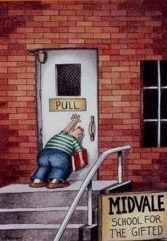 "Saw another ""Far Side"" comic on here. Had to post my personal favorite."