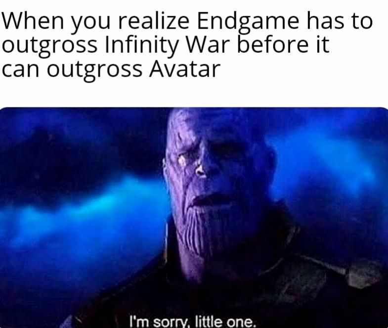Endgame vs Avatar