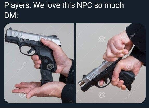 Genocide of the best NPC's, you never see that on the news.