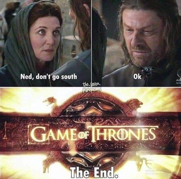 It's all ned's fault