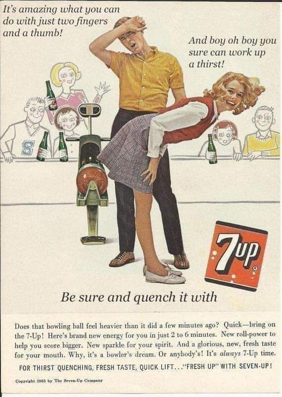 This old 7-up advert