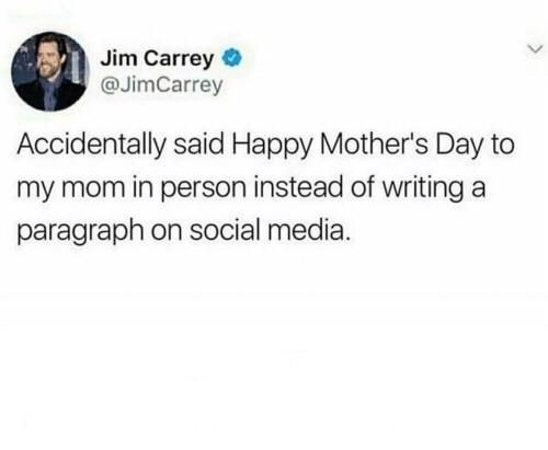 Does it count? Happy Mother's Day!